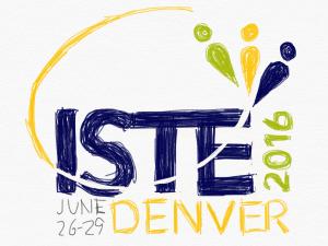 Hand drawn ISTE logo